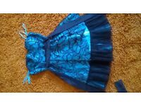 By Quiz, beautiful teal dress size 6.