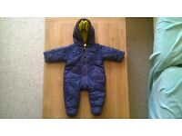 Baker baby by ted baker winter suit 0-3months