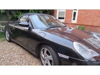 Porsche Boxter 3.2s Leather New Roof with glass rear screen