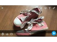Girls shoes size 8/9/10&11