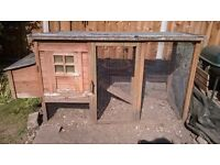 Chicken coop / pet cage with run