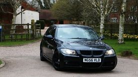 BMW 3 Series 3.0 325d E90 M Sport 4dr Black Diesel Loaded with factory options ! FSH Keyless Start