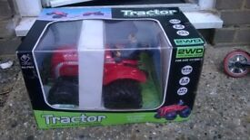 Rc tractor all ready to run brand new