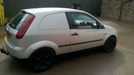 ford fiesta tdci van £1000or non px