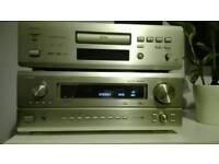Denon AVR 3802 receiver and Denon 3800 CD/DVD player