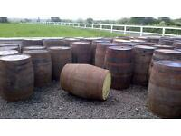 CLEARENCE Full size Whiskey barrels CLEARENCE
