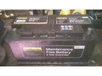 large car battery