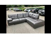 SOFAOLOGY LEATHER CORNER SOFA NICE