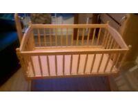 Bays cot, cradle, crib.... in pine