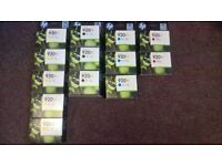HP OFFICEJET 920XL PRINTER CARTRIDGES FOR 6000,6500,7000series,6500Aseries,7500A