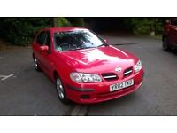 nissan almira excellent service new tires new battery.very reliable,start and run excellent no prob
