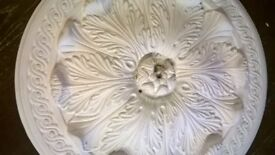 21inch (430mm) Ceiling Rose - Victorian Design
