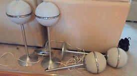 4 Grundig Ball Speakers