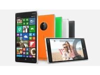 NOKIA LUMIA 830 8GB unlock / lock / LCD (uk phones)