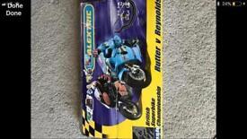 Scalextric superbike track