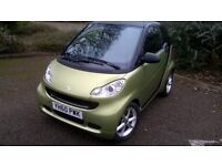 SMART FORTWO CDI PULSE 2010 VERY LOW MILEAGE REMAPPED VERY QUICK ZERO ROAD TAX GENUINE 72 MPG