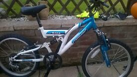 childs bike boys girls six gears 20 inch wheels
