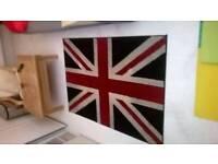 Majestic Union Jack rug 170cm by 120cm excellent central London bargain
