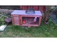rabbit hatch and hay for sale