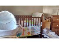 M&P nursery furniture set