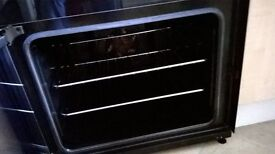 ZANUSSI ZCV680TCBA Fan assisted cooker - BLACK