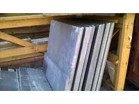 600*600 Brazilian black slate calibrated paving ~4.5m2 , London