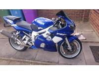 Yamaha r6 not Honda Suzuki Kawasaki