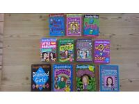 Jacqueline Wilson 4 hardback and 7 paperback books bundle job lot
