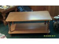 Andover Mill Ora Solid Pine Coffee Table