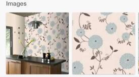 Graham and brown kitchen wallpaper
