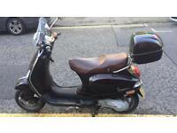 Vespa lx touring 50cc 2010