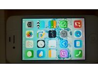 iphone4 full working order on vodafone (white) gc with charger