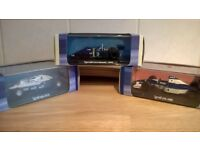 """Tyrrell F1 die cast model's 1/43 scale.""""The three car's that tried to shape F1 design"""""""