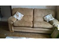 free to collector three seater sofa