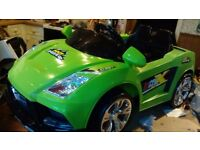 Audi X racer sport electric ride on (new and unused)