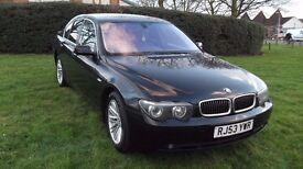 BLACK BMW 735i LPG
