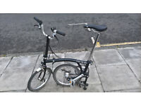 Brompton M3L 2014 Folding Bike | London, UK