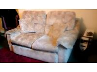 Two Seater Floral Design Settee