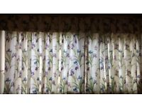 Pretty, Sanderson-style curtains, good condition