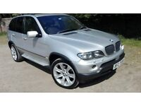 2007 BMW X5 3.0D SPORT AUTO, ONE OWNER, NEW MOT, FULL SERVICE HISTORY, FULL LEATHER HEATED SEATS