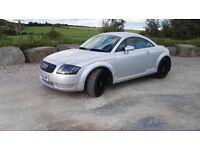 Audi TTC 1.8 turbo 4x4 FSH