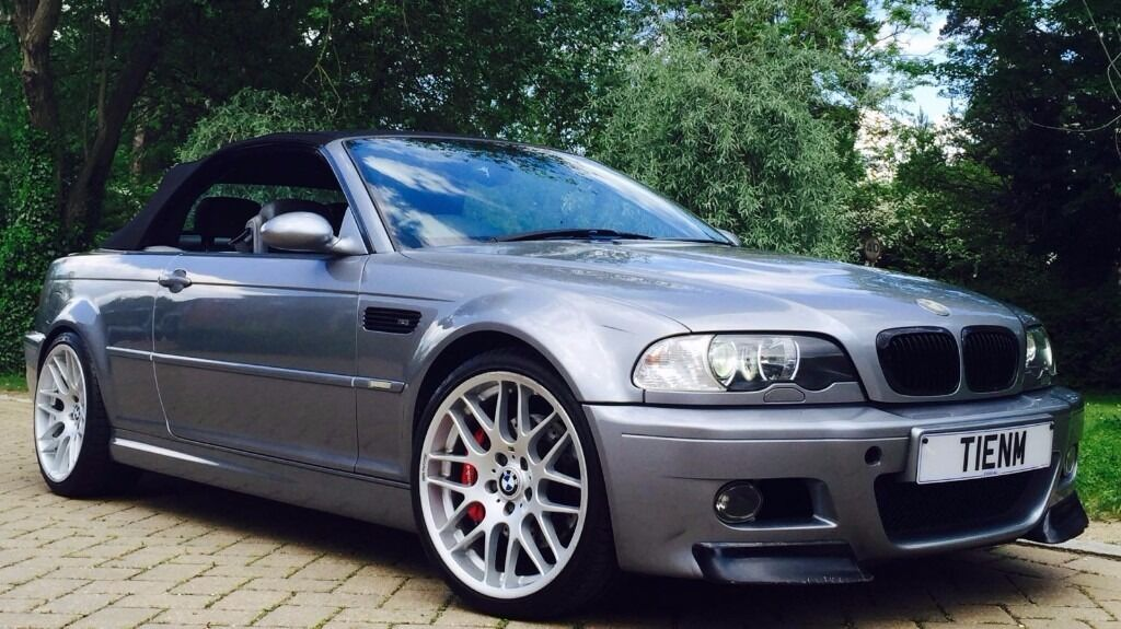 2003 Bmw M3 Convertible E46 Smg Long Mot Low Mileage Csl Wheels In High Wycombe