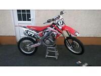 Honda crf250 moto x bike 2010 low hours **ready to race*