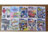 Wii Game Bundle / 10 Game Job Lot