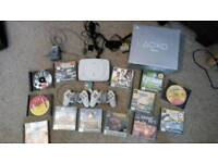 Sony Playstation PSone with Box, 2 controllers, 1 memory card and 13 games
