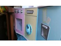 ** FREE* FREE* FREE** Kitchen and cooking role play / Deluxe large wooden pretend play toy