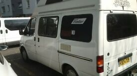 ford transit campervan 2.5d £3500 factory fitted all documentation from new