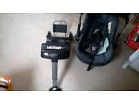 Silver Cross Car Seat AND Isofix base!!