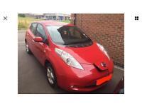 Nissan Leaf full electric car 66Regs auto 5doors hatchback