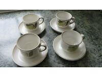 Denby Troubador Cups and Saucers
